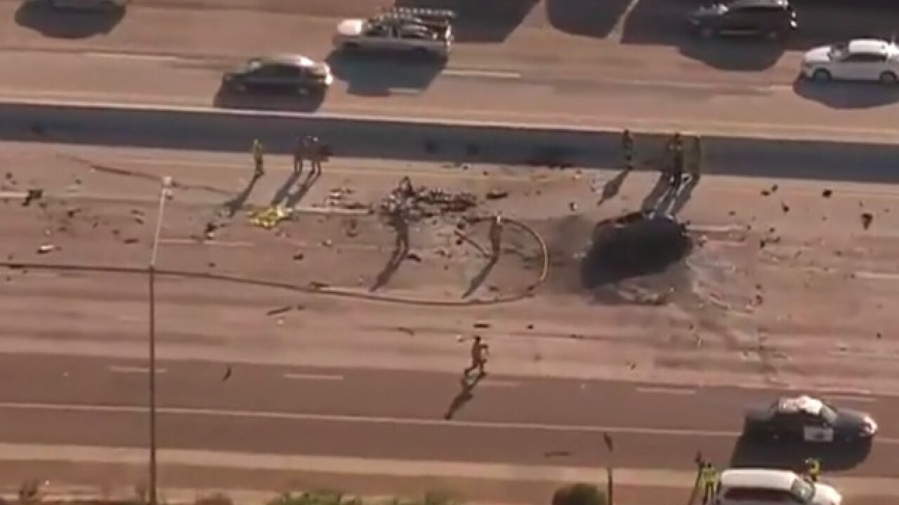 Deadly crash shuts down I-805 in University City