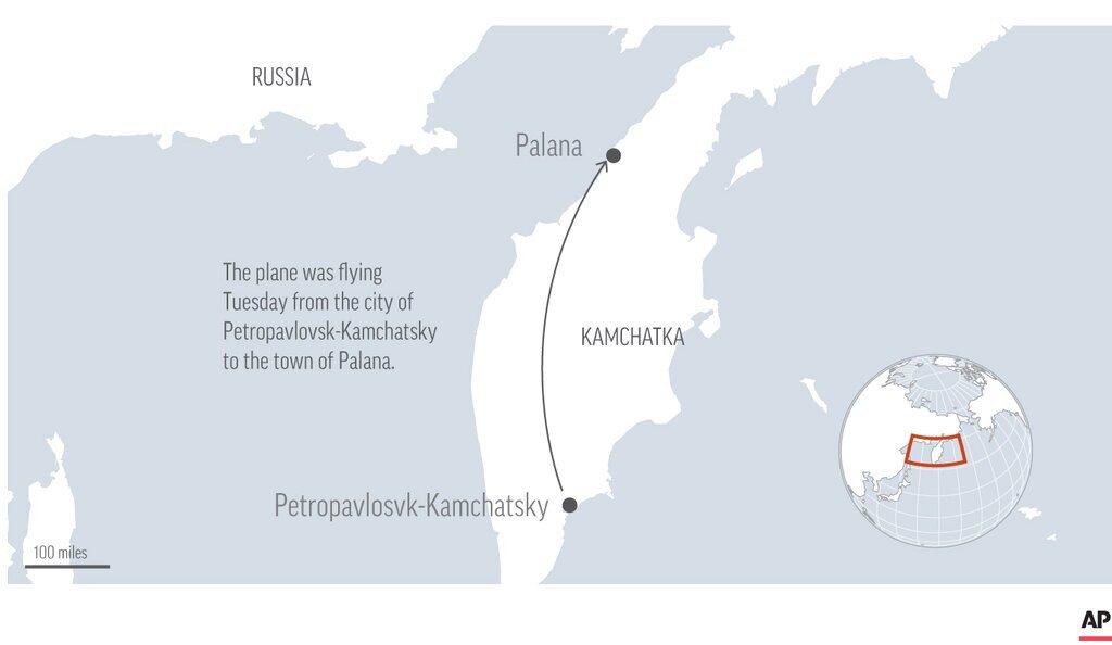 Russia Plane Crash graphic
