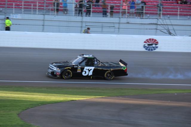 PHOTOS: Ben Rhodes takes the checkered flag at Las Vegas 350