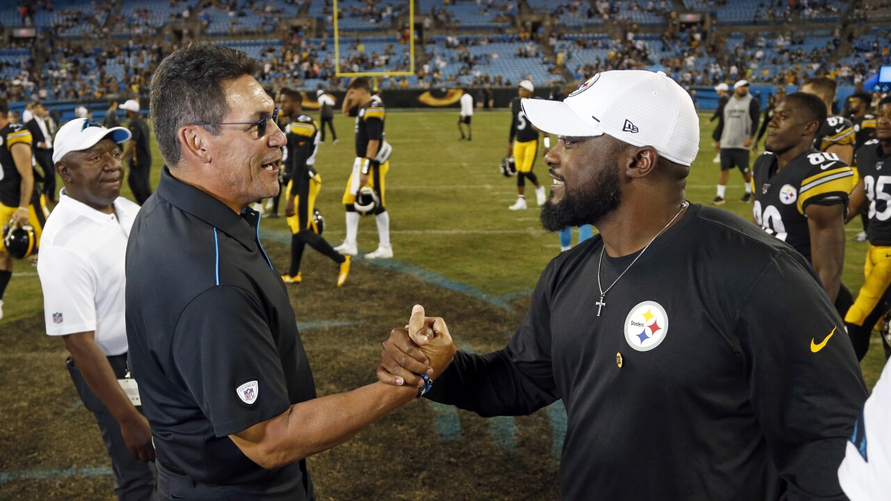 Steelers Panthers Football