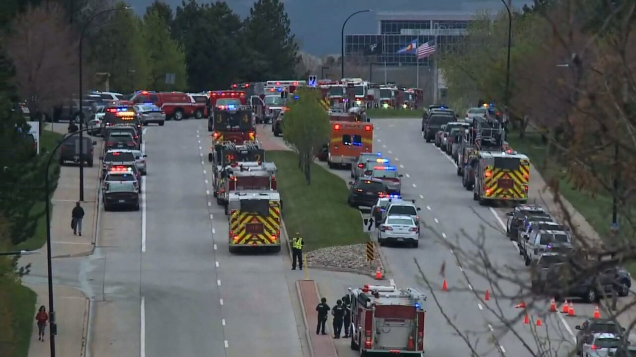 At least seven injured in school shooting in suburban Denver, 2 suspects in custody