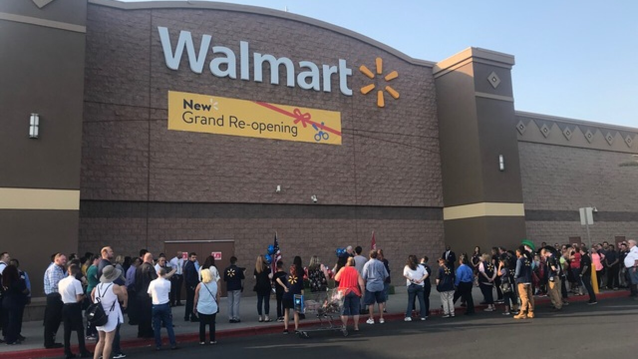 Local Walmart goes high-tech to compete online