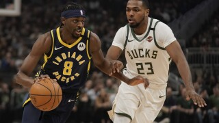 Pacers Bucks Basketball