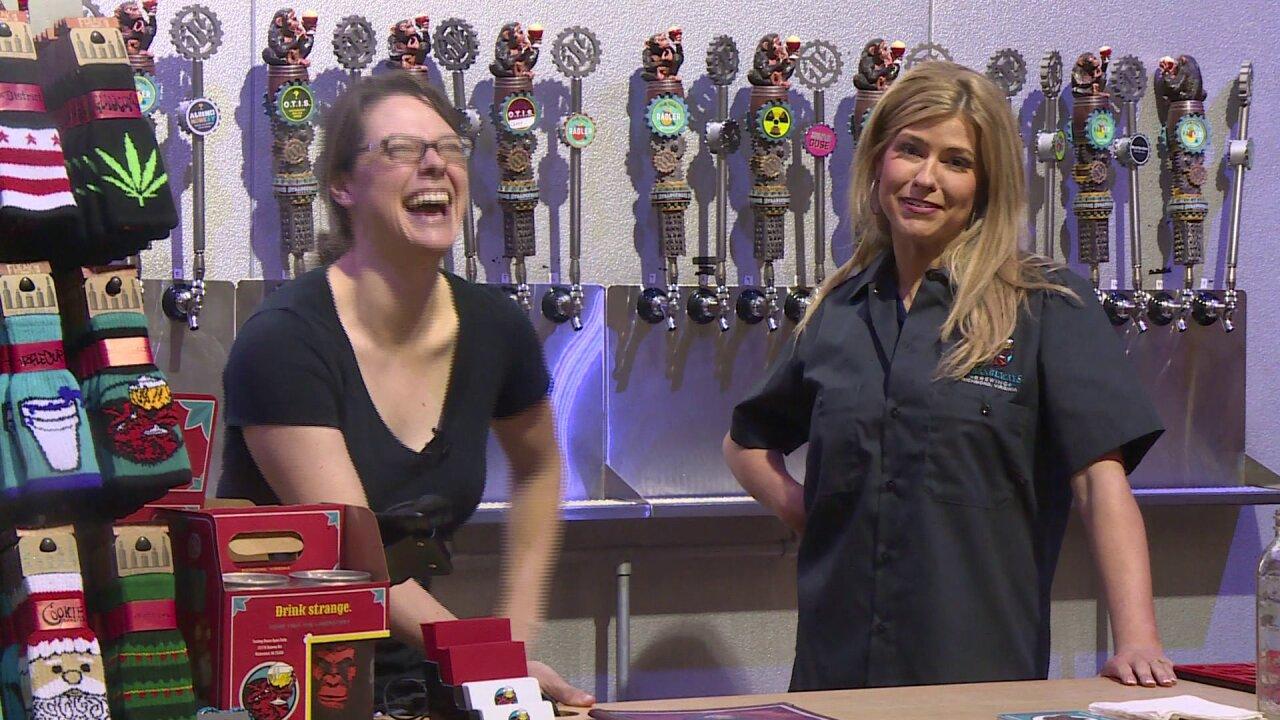 Will things get strange for Nikki-Dee at StrangewaysBrewing?