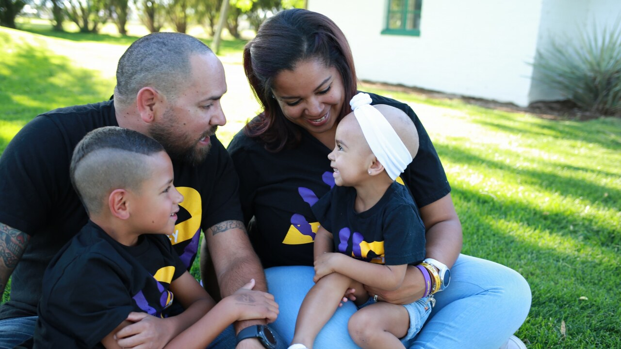3-year-old fighting cancer gets s