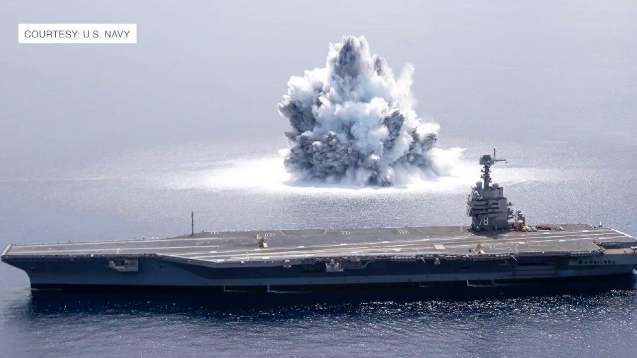 US Navy Test Blast off Florida coast, June 2021