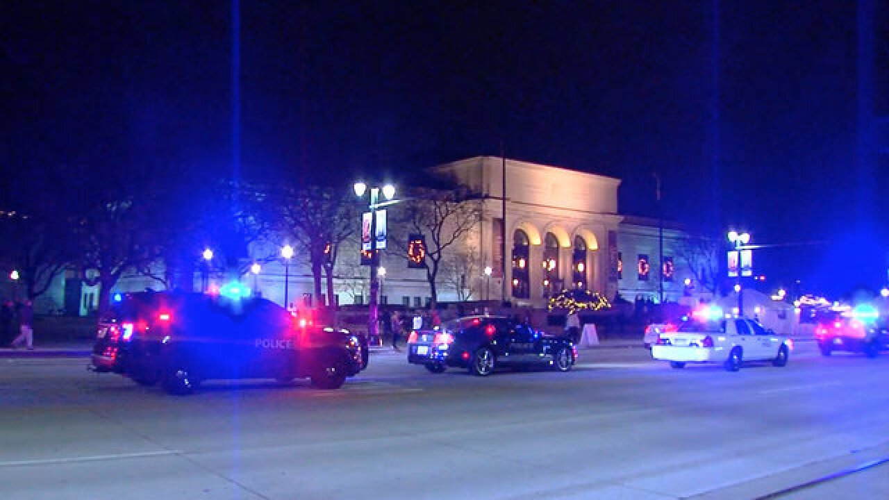 2 shot outside of DIA during Noel Night