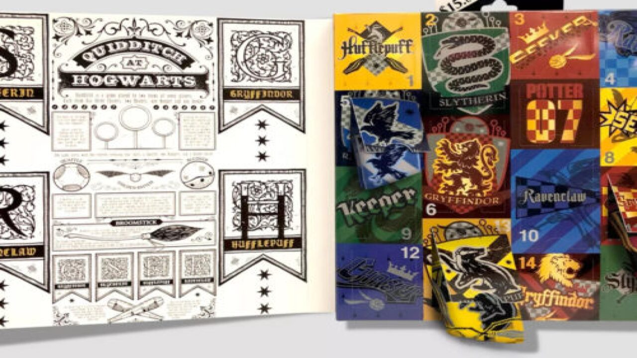 Target Is Selling 4 New Harry Potter Sock Advent Calendars This Year
