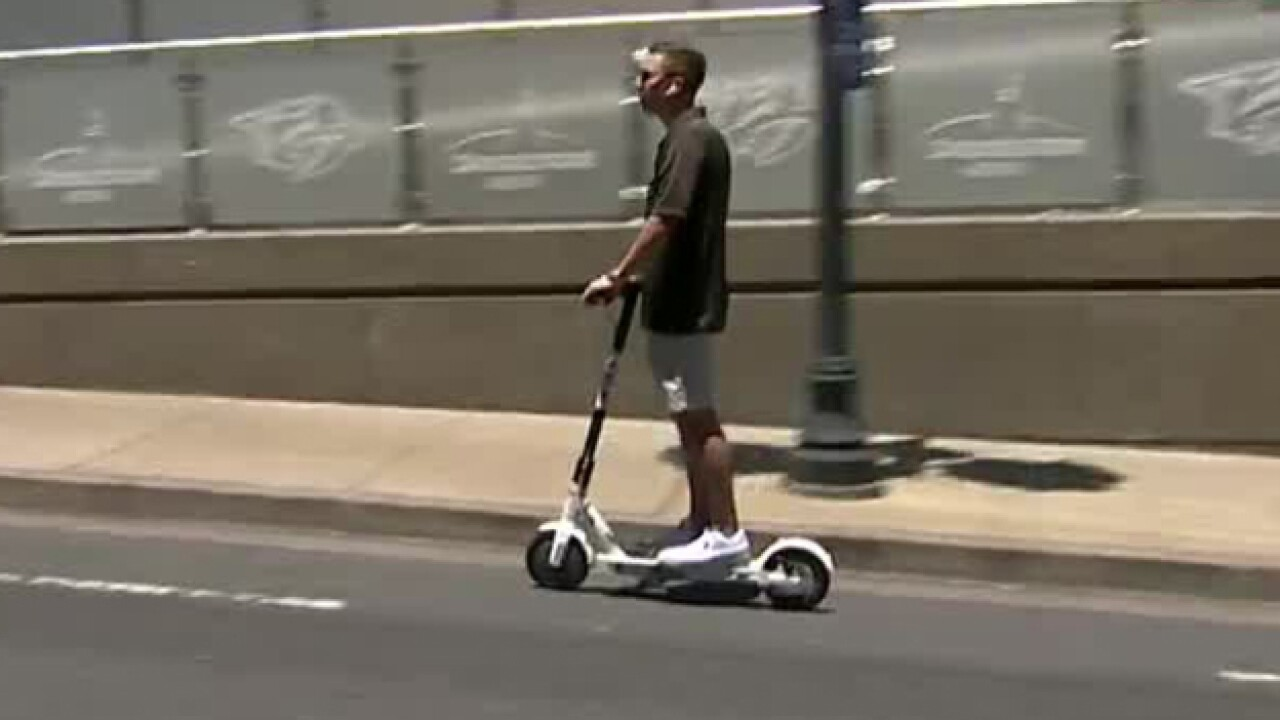 Public Forum Held On Dockless Scooters In Nashville