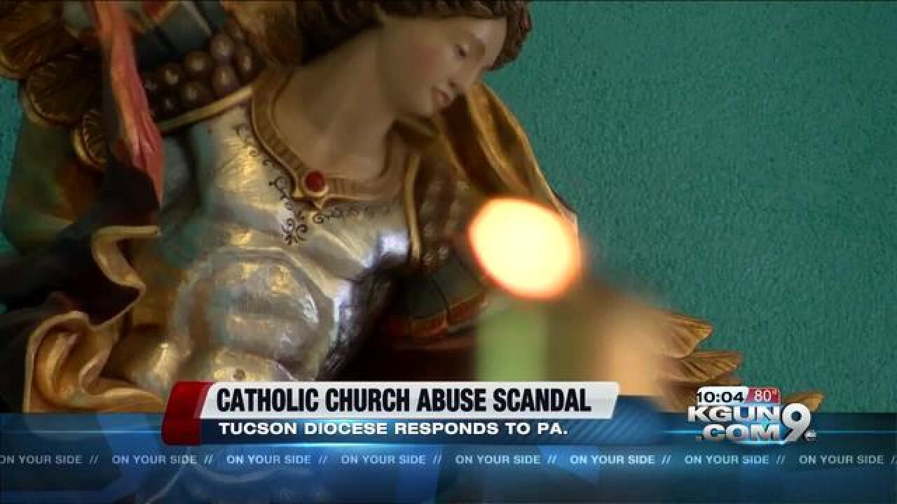 Diocese of Tucson responds to claims of abuse