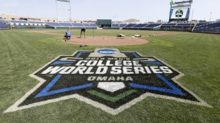 College World Series Baseball