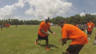 Devery Henderson Hosts Annual Camp in Opelousas Saturday