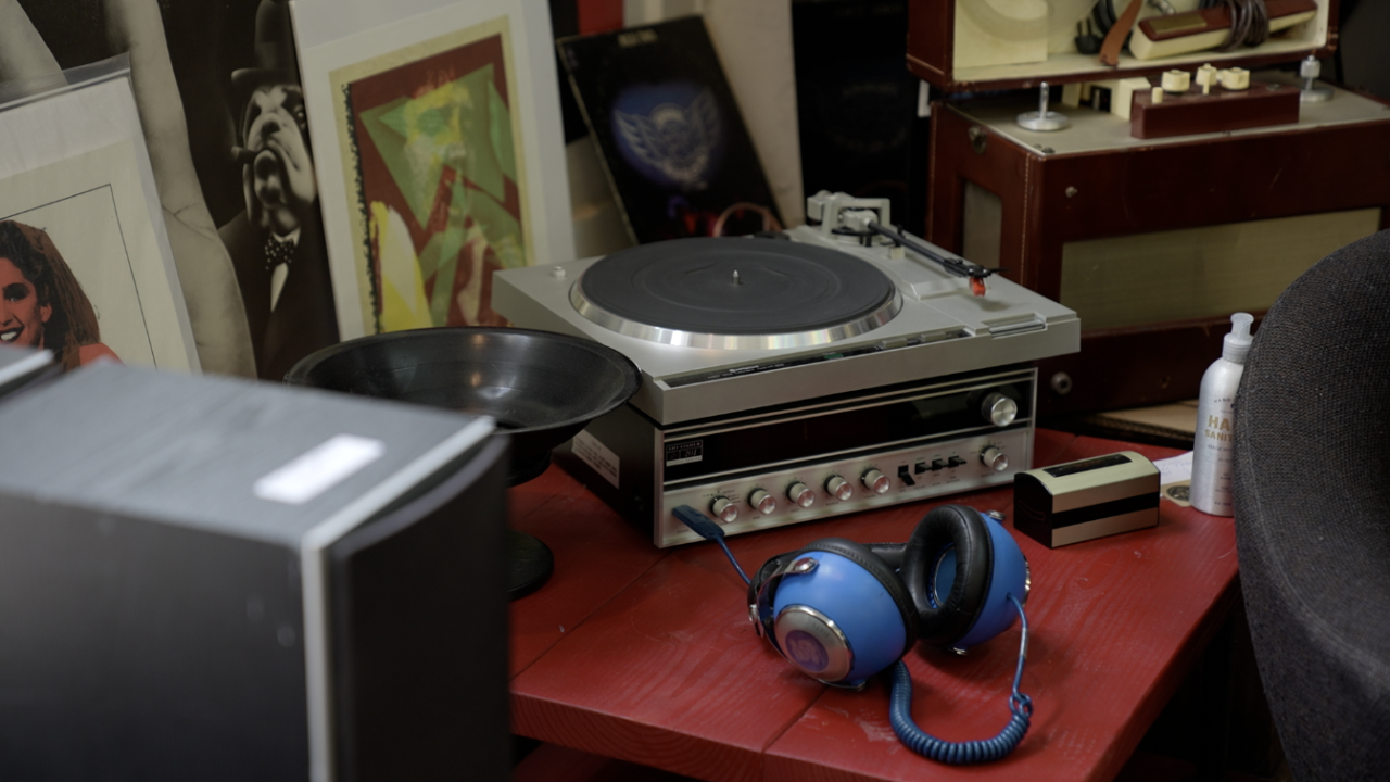 A little corner of The Record Lounge