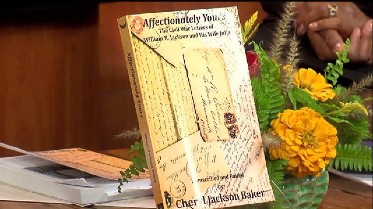 Cheryl Jackson Baker shared her family Civil War history in her new book, 'Affectionately Yours'