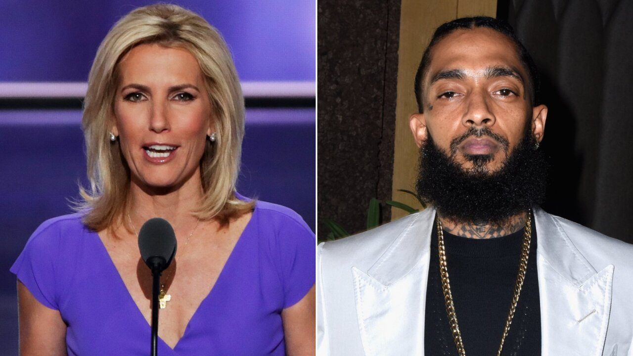 Laura Ingraham facing backlash after Nipsey Hussle segment
