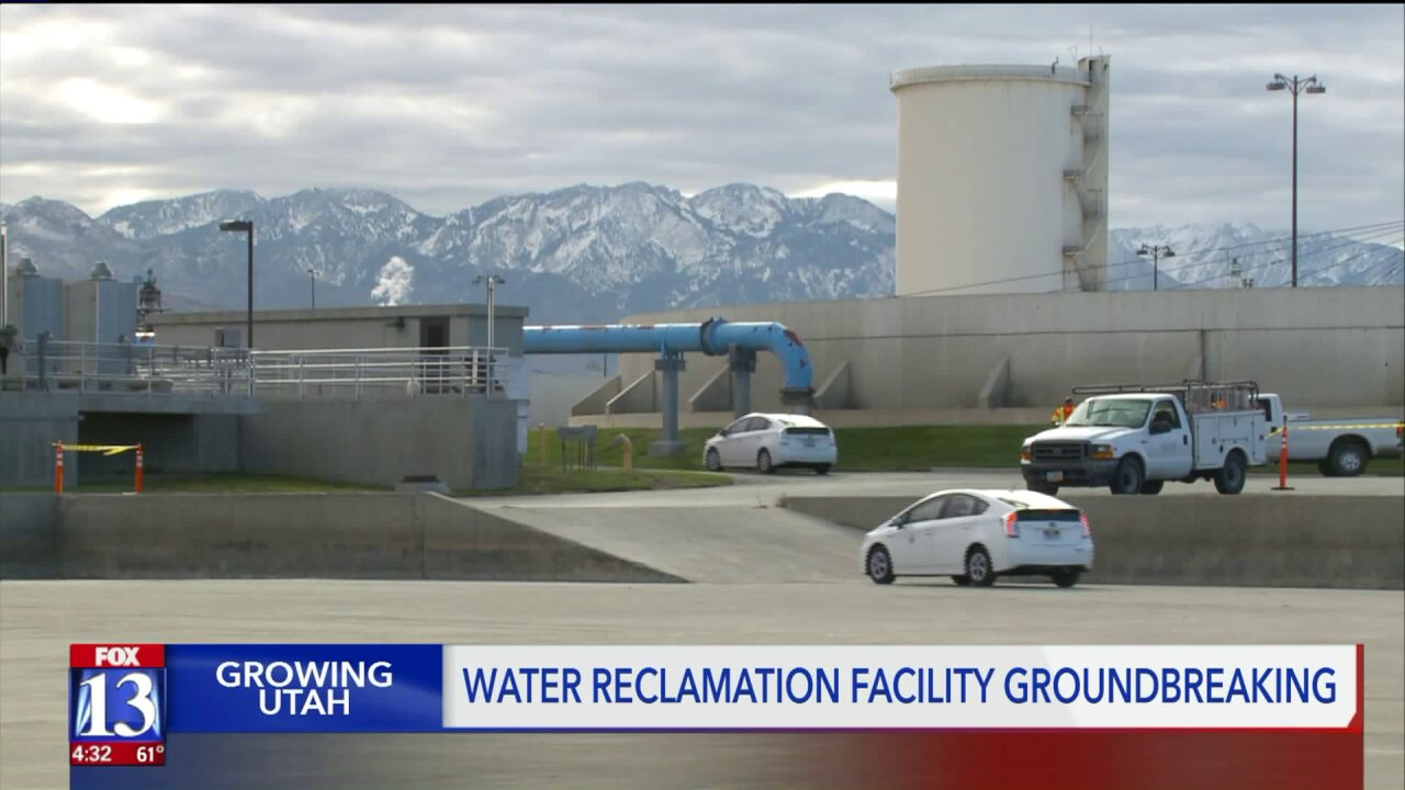 SLC breaks ground on new wastewater facility, a half-billion-dollar project that may increase rates