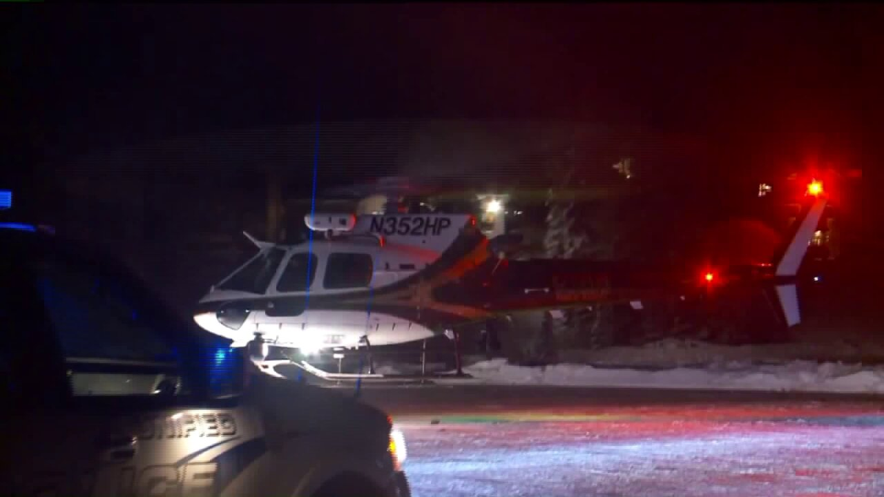 Skiers call 911 for each other after being separated in Little Cottonwood Canyonavalanche