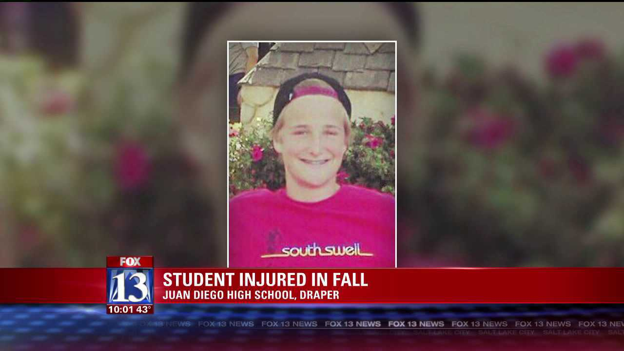 Juan Diego HS student hospitalized after fall