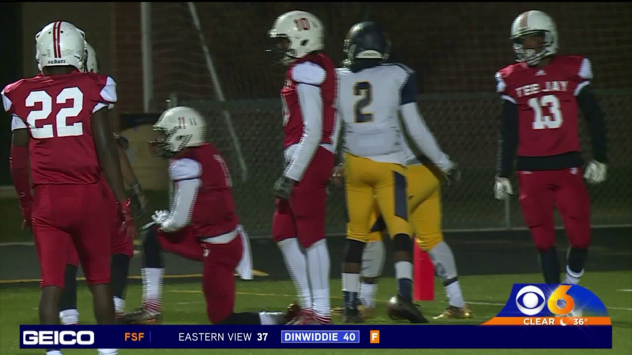 Thomas Jefferson comes up short against Culpeper 14-7