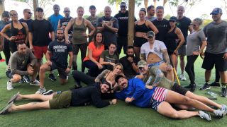 If you're a veteran whose feeling blue, Wade Waddick, the owner of Evolution Fitness in Boca Raton will try to sweat it out of you.