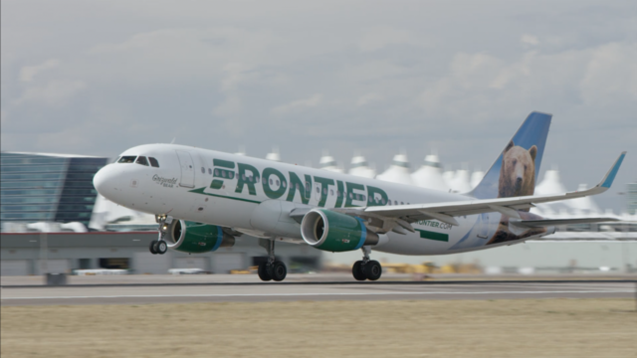 Frontier brings back one-day $20 flight deal