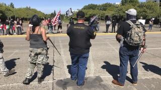 Trump supporters, protesters clash again in Oregon