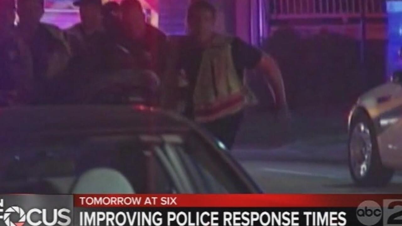 Improving police response times