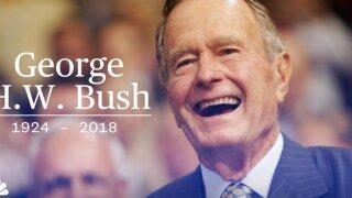 A Timeline: George H.W. Bush