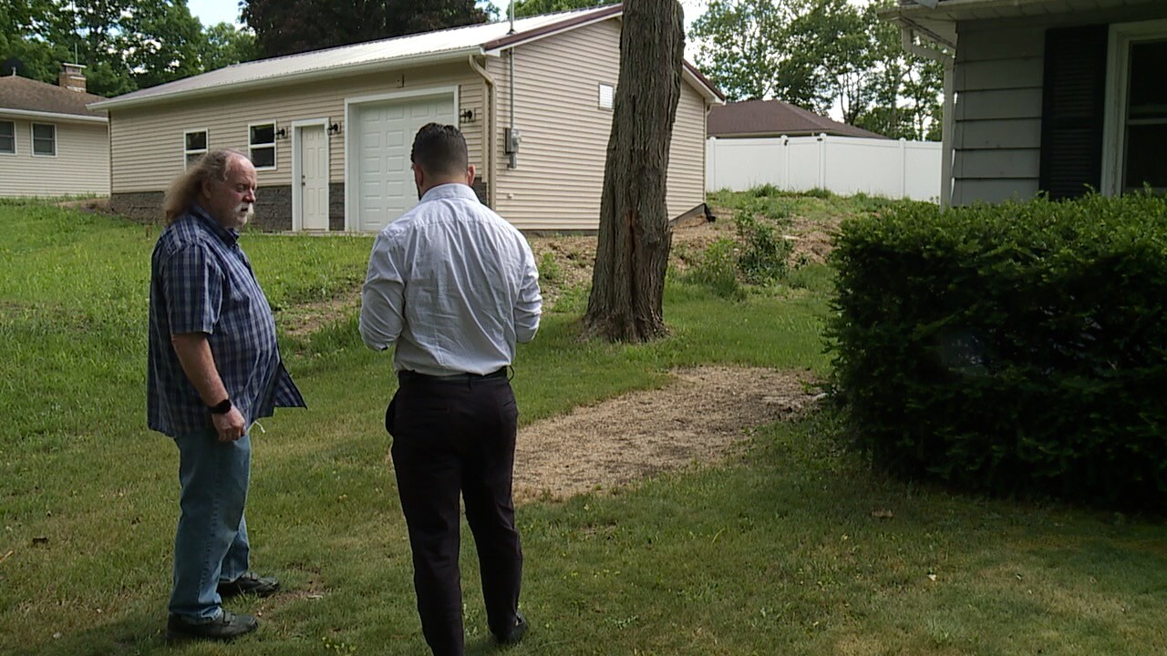 Tree service accused of taking money, not doing job