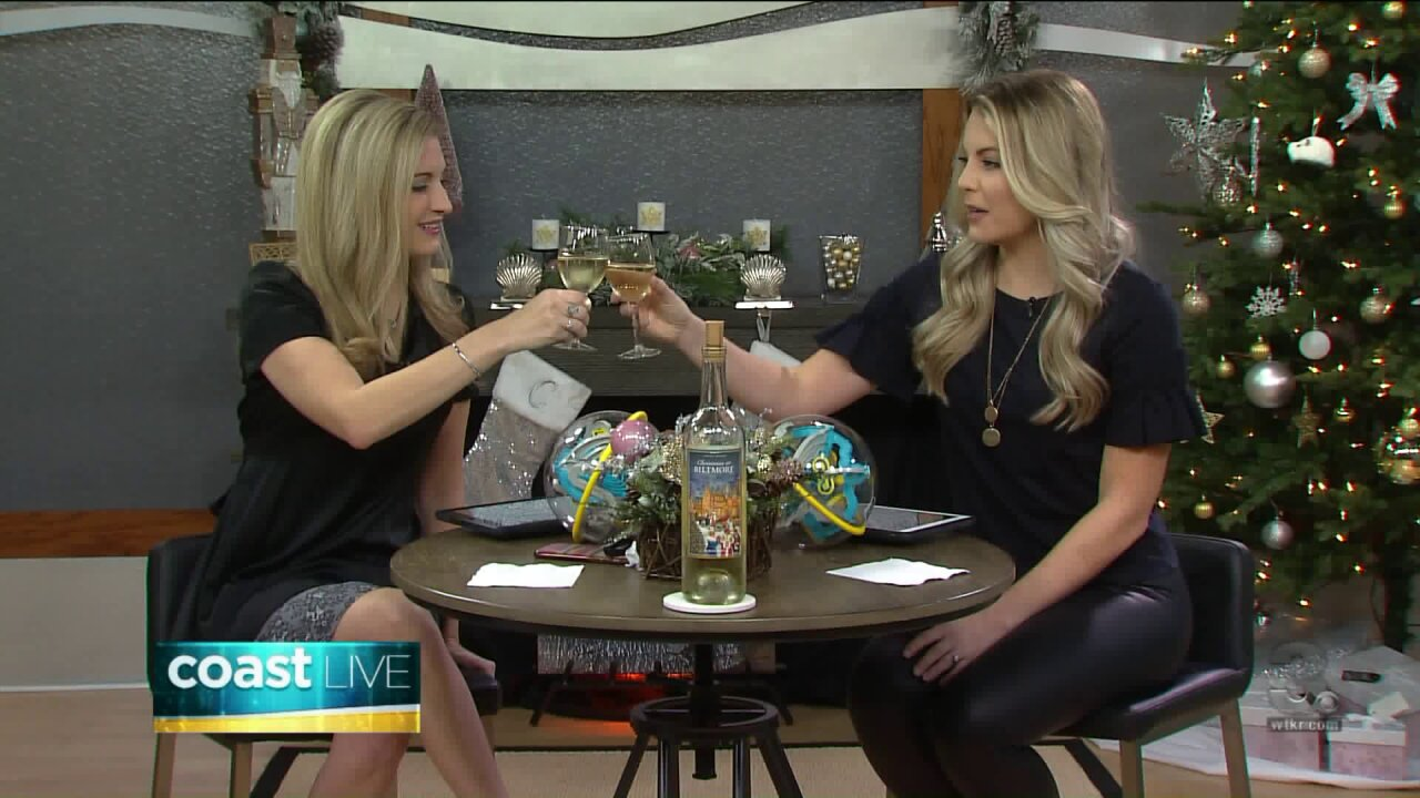 Toasting Tuesday with a 2017 Limited Edition Christmas White Wine from Biltmore Estate on CoastLive