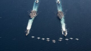 U.S. Navy aviators return to Naval Air Station Oceana and Norfolk NavalStation