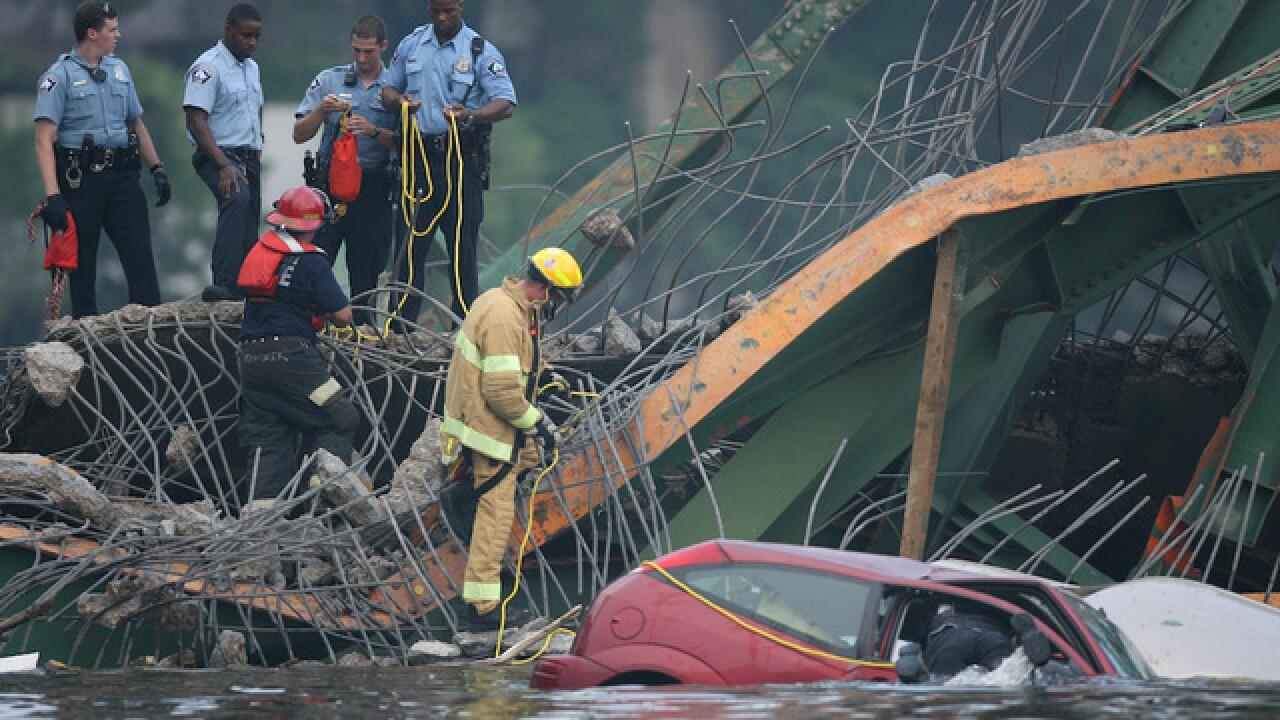 PHOTOS: Historic bridge collapses in the U.S.