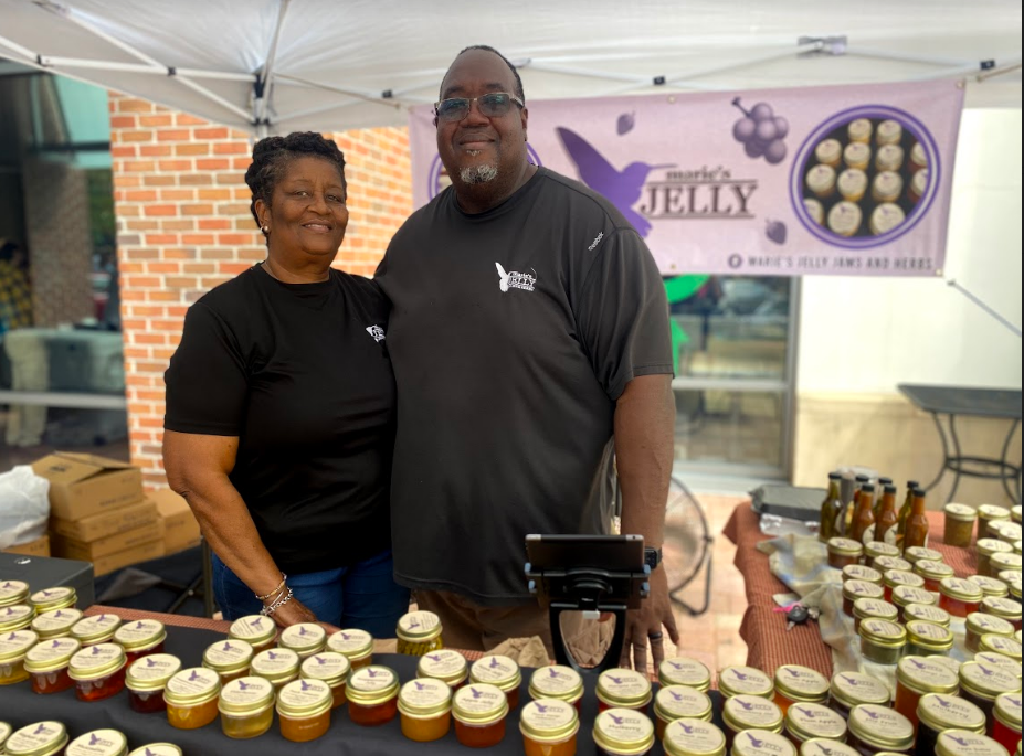 Marie's Jelly at Southwood Street Market