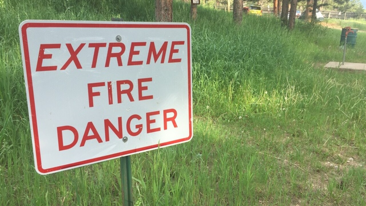 Campers urged to be cautious with camp fires