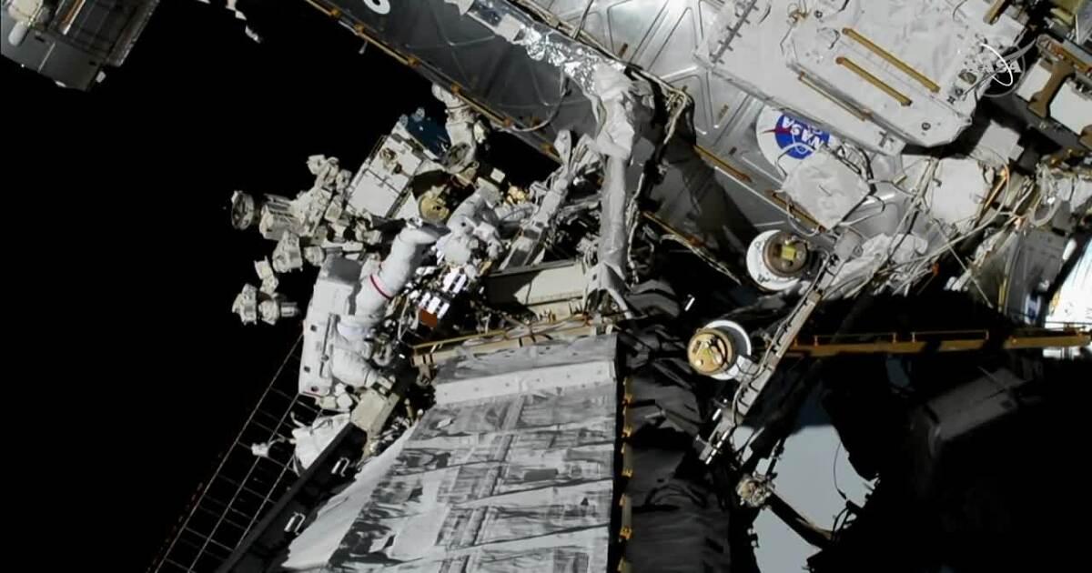 Christina Koch and Jessica Meir make history as the first female duo to do a spacewalk