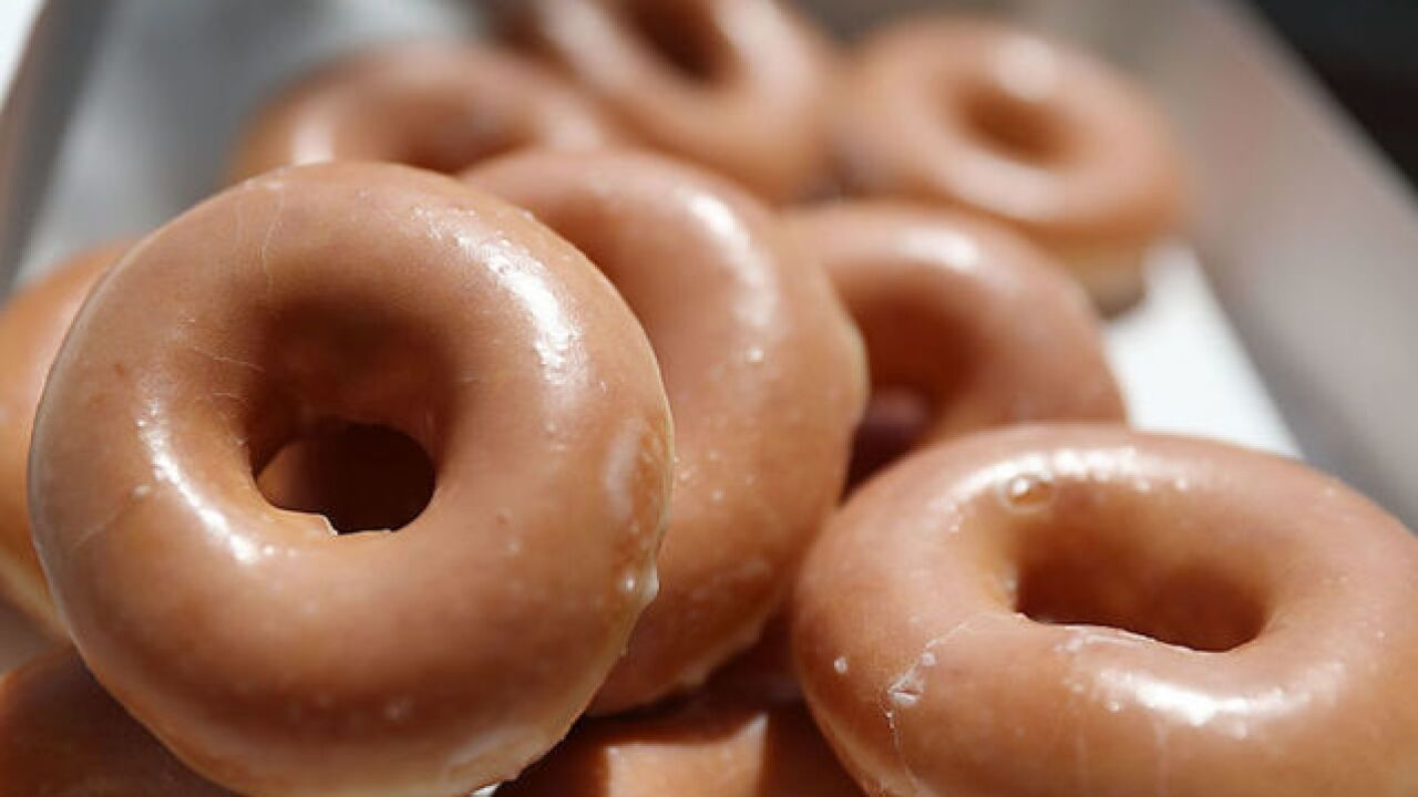 One deal you dough not want to miss: Snag a dozen Krispy Kreme doughnuts for $1 on Friday
