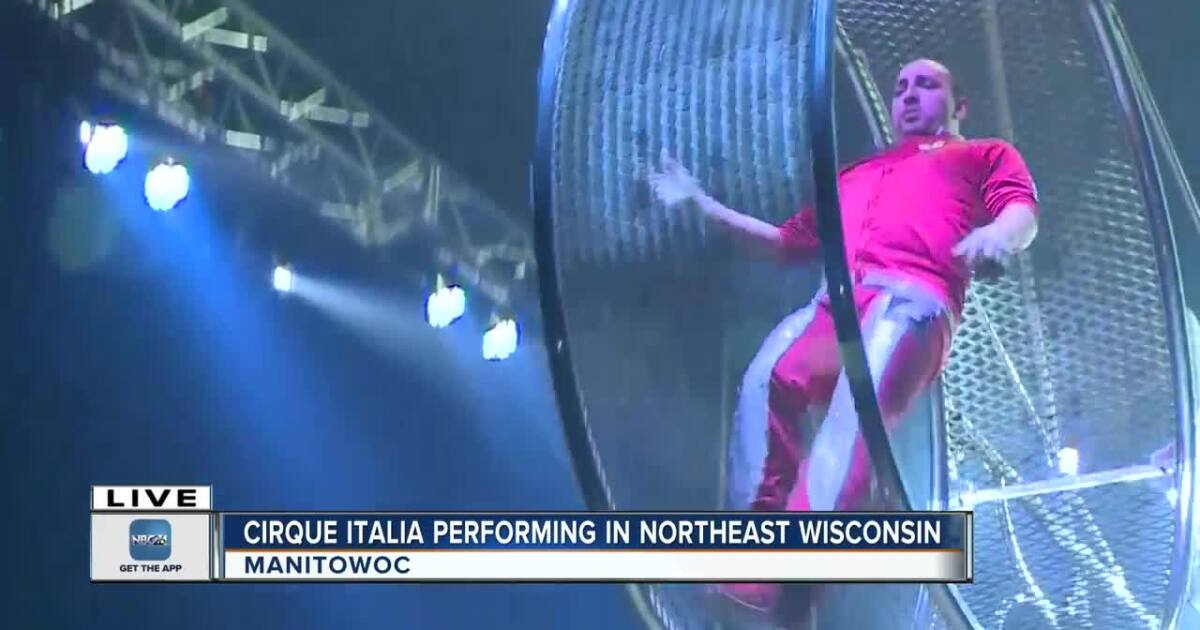 Cirque Italia Water Circus making stops in Northeast Wisconsin