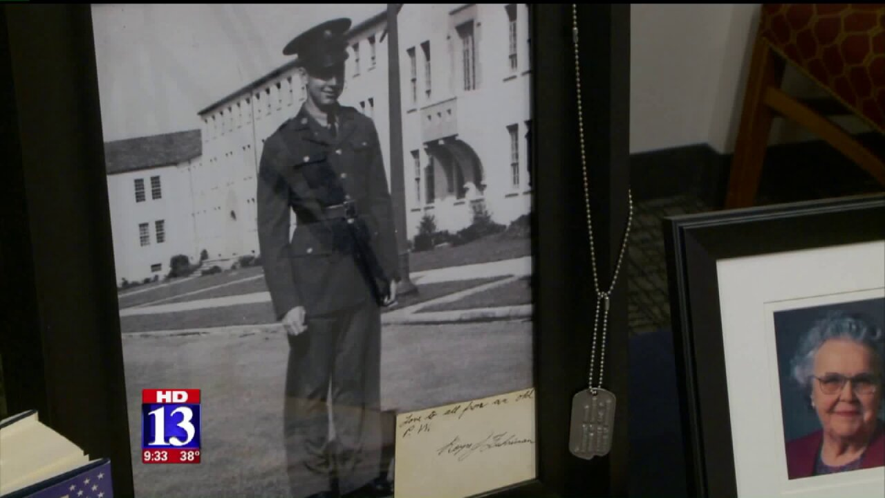 Purple Heart presented posthumously to family of Utah veteran who was held as POW
