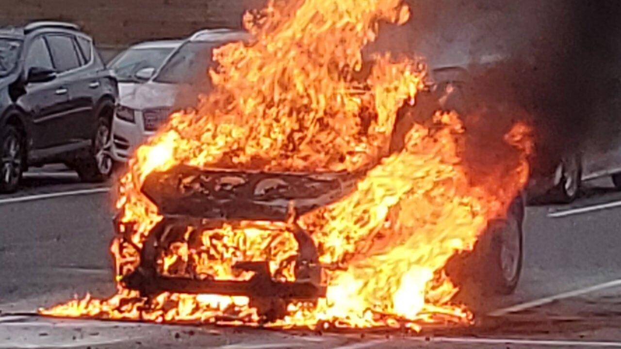 Kia Car Fire