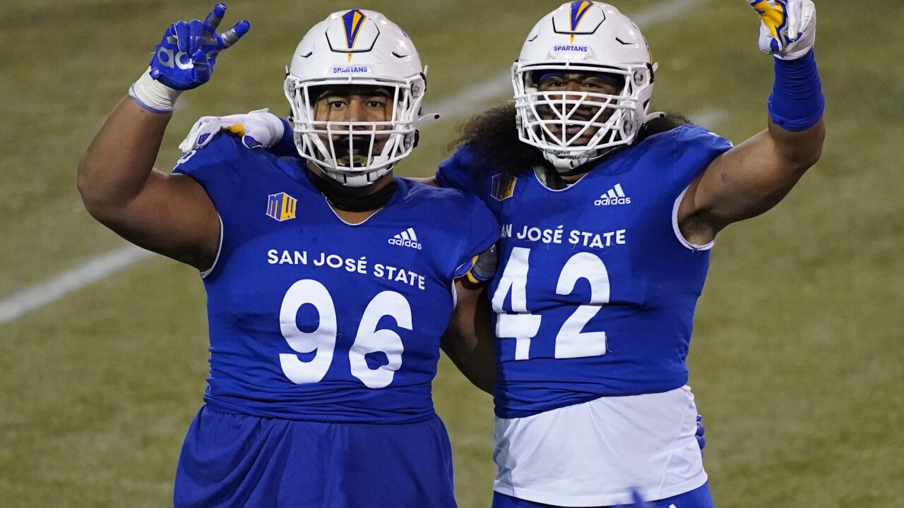 Nevada San Jose St Football