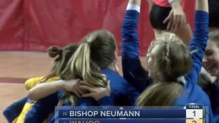 Nebraska State VB: Wahoo vs. Bishop Neumann