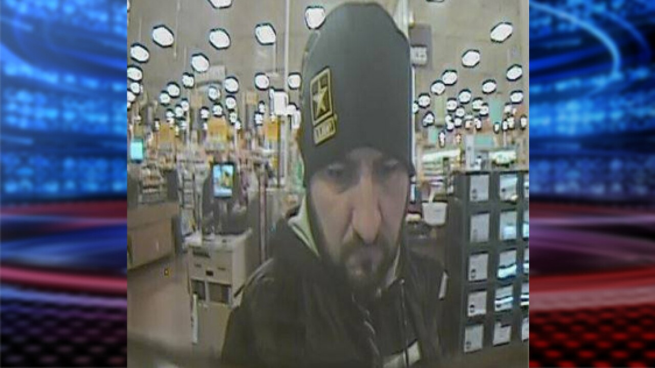 Bountiful Police seeking credit card fraud suspect