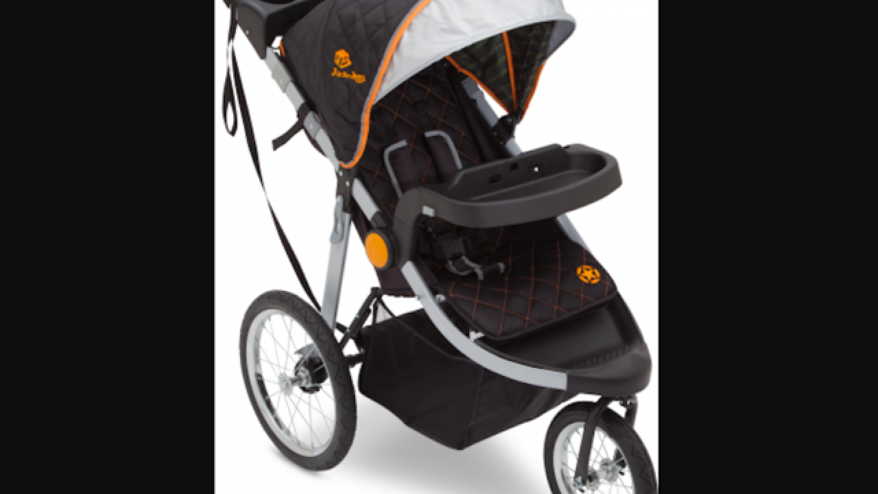 Jogging stroller recalled in 2017