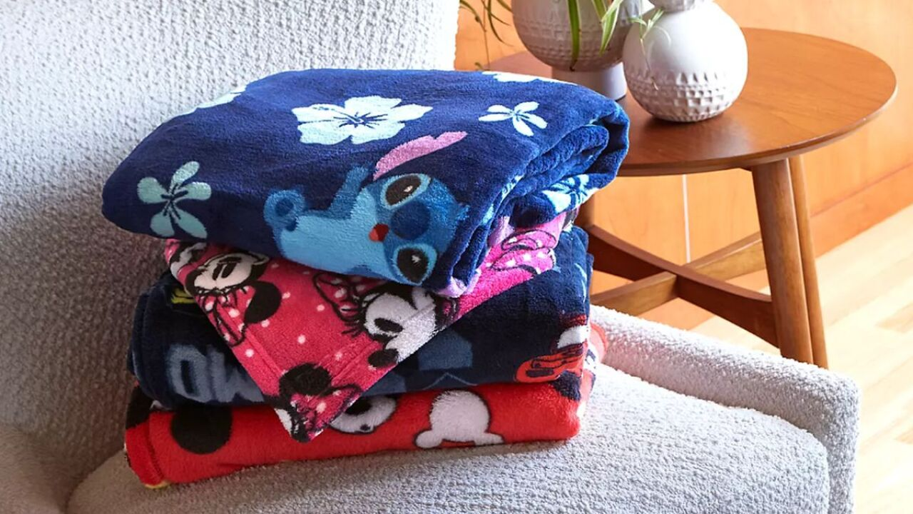 Disney fleece blankets are on sale for $4.79 (regularly $20)