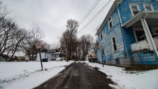 McGowan Ct. is an extension of McGowan St. between Clark St. and Johnston St. Like McGowan St., this road is is dotted with vacant lots. (H.L. Comeriato).jpg