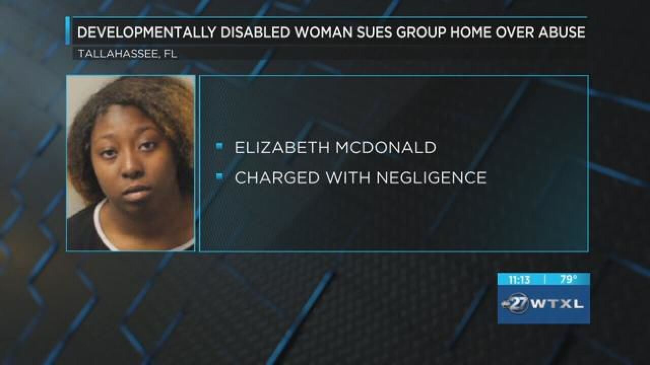 Developmentally disabled woman sues group home over abuse