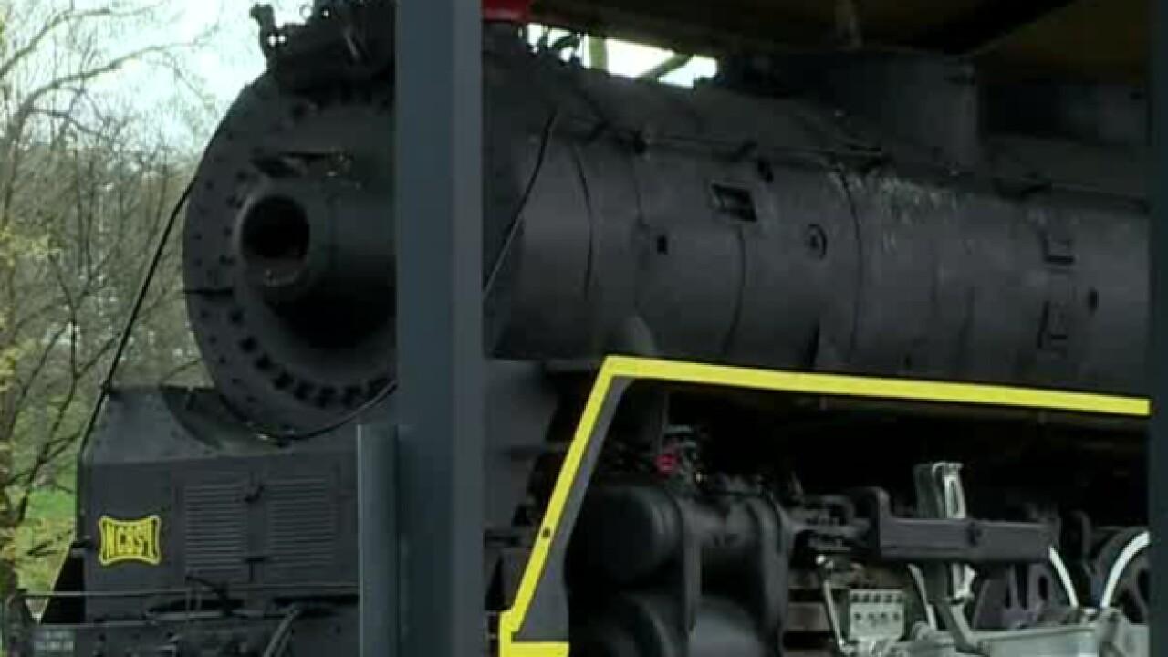 Centennial Park locomotive to be relocated