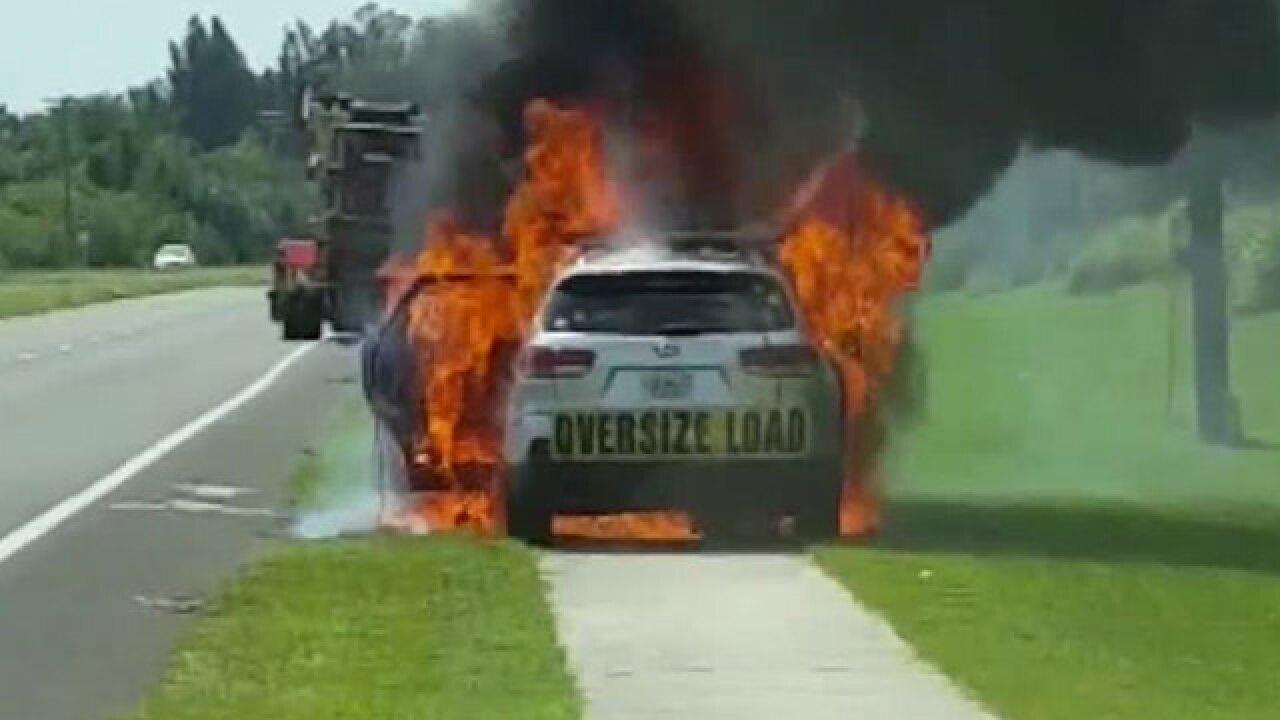 Kia fire victims demand action at hearing