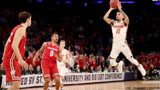 Chris Chiozza hits 3 point shot at buzzer in overtime; Florida Gators beat Wisconsin Badgers 84-83