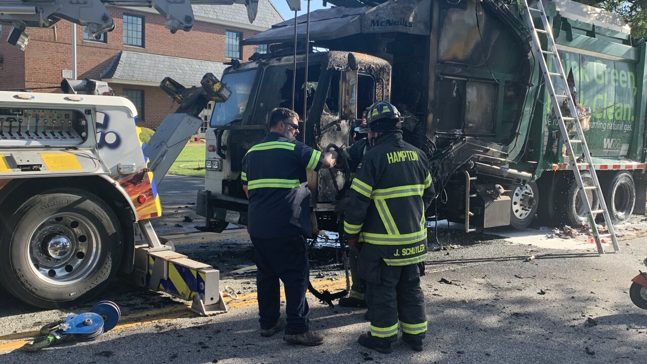 HP S. Armistead Avenue vehicle fire (June 28)